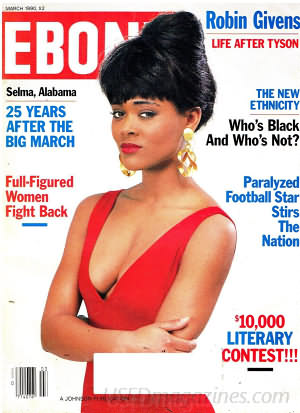 Ebony March 1990