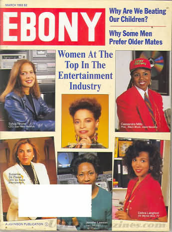 Ebony March 1993