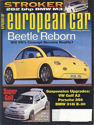 European Car April 1994