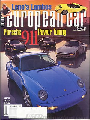 European Car October 1994