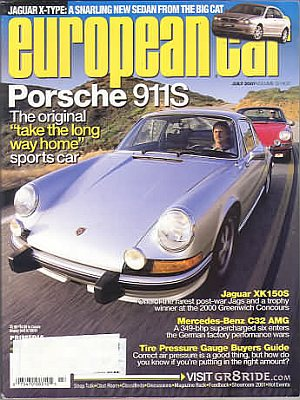 European Car July 2001