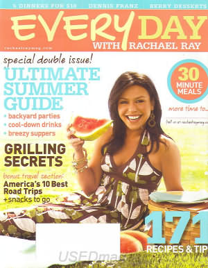 Everyday with Rachel Ray June/July 2007