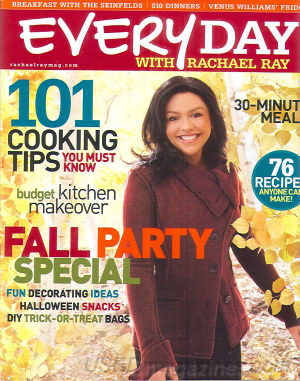 Everyday with Rachael Ray October 2007