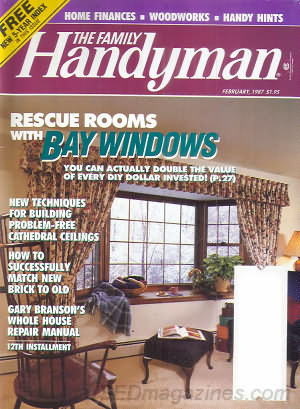The Family Handyman February 1987
