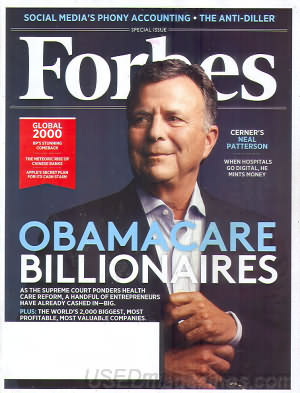 Forbes May 7, 2012