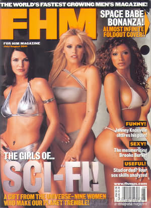 FHM (For Him Magazine) July/August 2001 #13