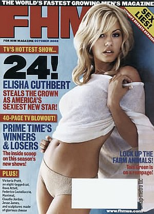 FHM (For Him Magazine) October 2002