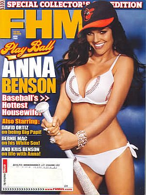 FHM (For Him Magazine) April 2006