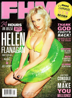 FHM (For Him Magazine) September 2013