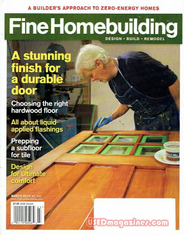 Fine Homebuilding February/March 2016