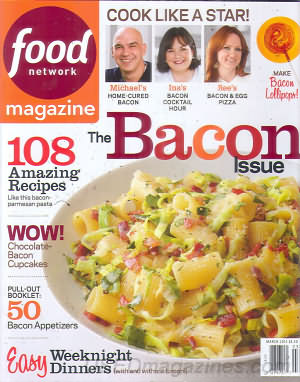Food Network March 2014