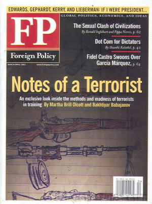 Foreign Policy March/April 2003