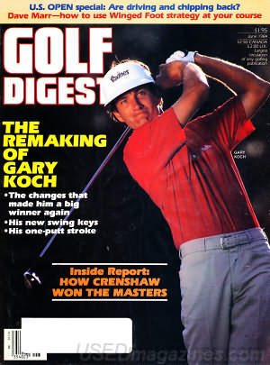 Golf Digest June 1984