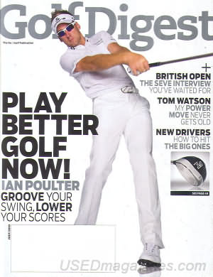 Golf Digest July 2010