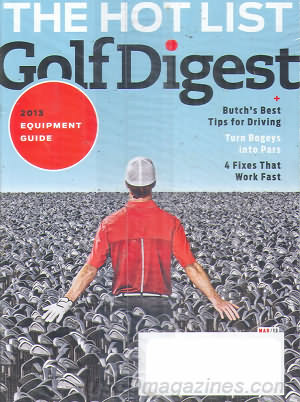 Golf Digest March 2013