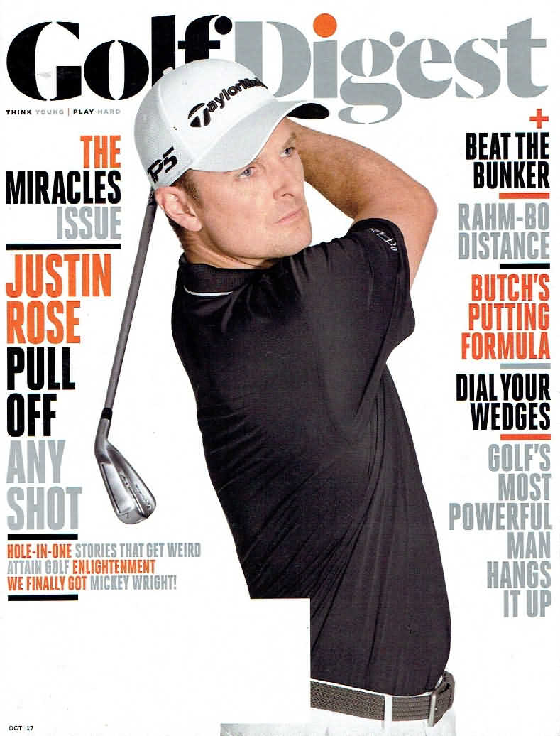 Golf Digest October 2017