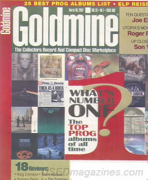Goldmine March 30, 2007