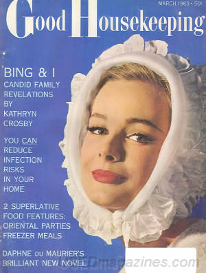 Good Housekeeping March 1963