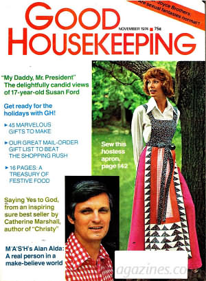Good Housekeeping November 1974