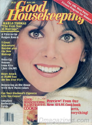 Good Housekeeping May 1981