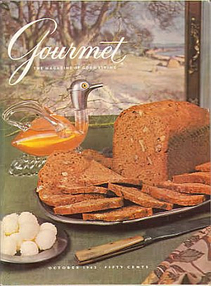 Gourmet October 1962