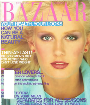 Harper's Bazaar July 1980