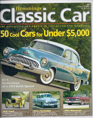 Hemmings Classic Car February 2005