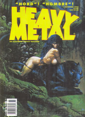 Heavy Metal November 1994