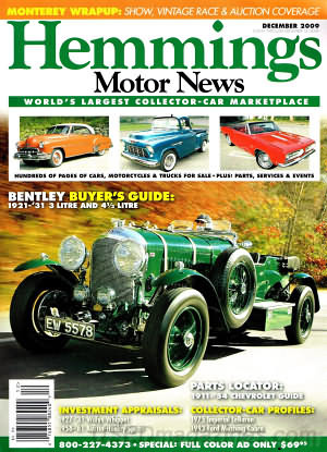 Hemmings Motor News December 2009