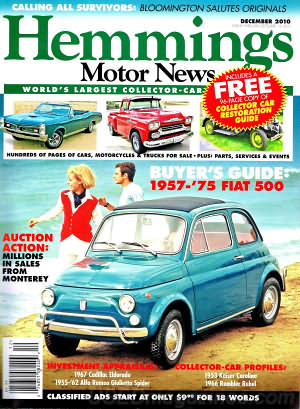 Hemmings Motor News December 2010