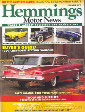 Hemmings Motor News December 2011