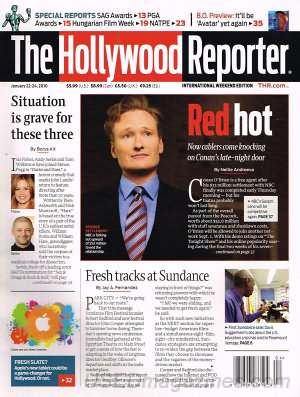 Hollywood Reporter January 22/24 2010