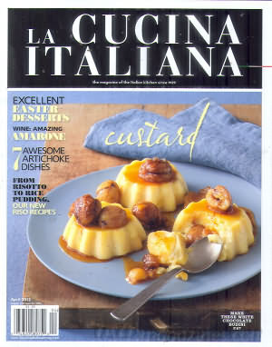 La Cucina Italiana April 2012