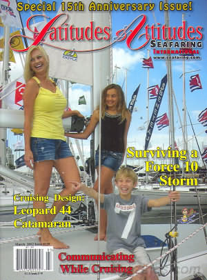 Latitudes & Attitudes Seafaring  March 2012