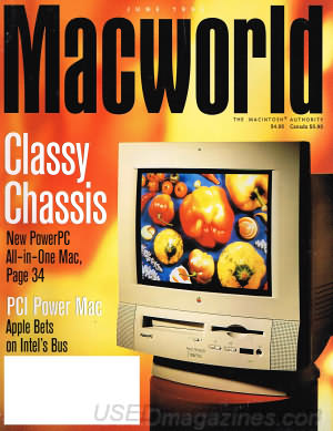 Macworld June 1995