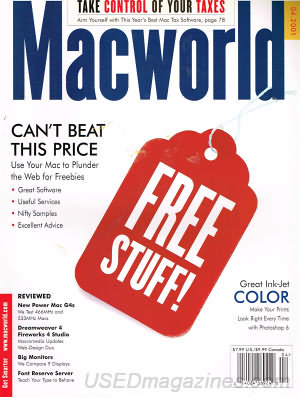 Macworld April 2001