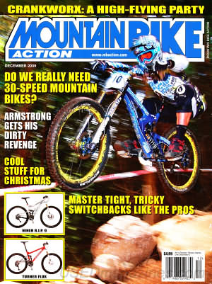 Mountain Bike Action December 2009