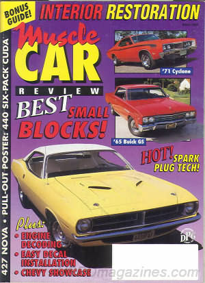 Muscle Car Review March 1993