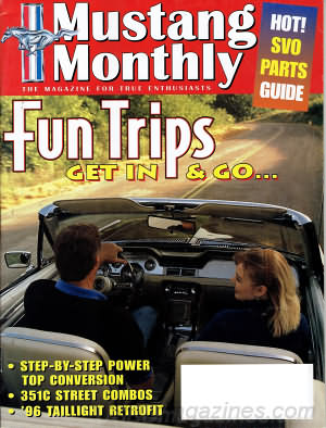 Mustang Monthly August 1996