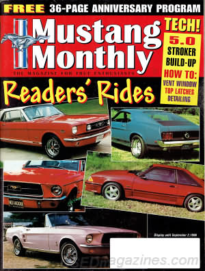 Mustang Monthly September 1996