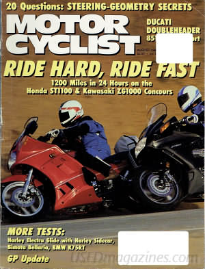 Motor Cyclist August 1990