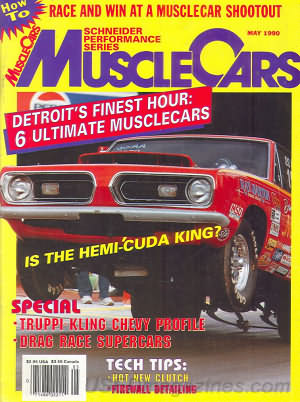 Muscle Cars May 1990