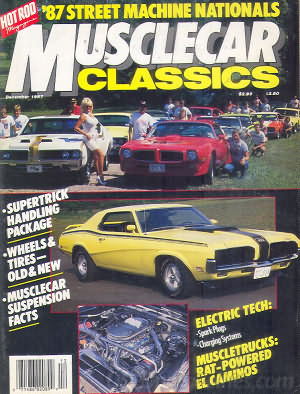 Musclecar Classics December 1987