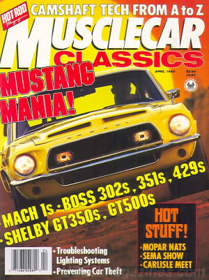 Musclecar Classics April 1988