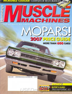 Muscle Machines June 2007