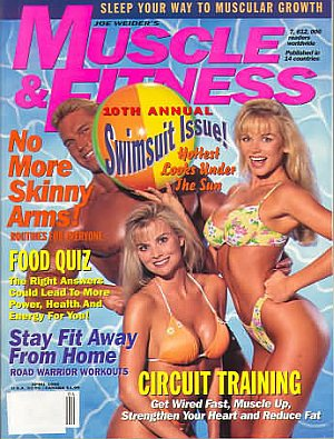 Muscle & Fitness April 1995