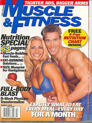 Muscle & Fitness March 1999