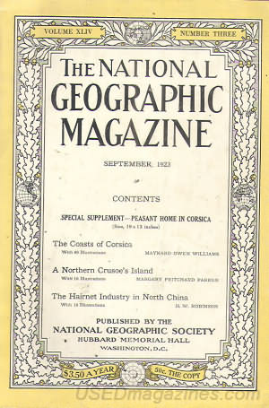 National Geographic September 1923