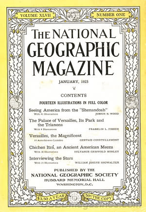 National Geographic January 1925