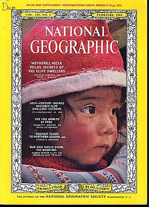 National Geographic February 1964